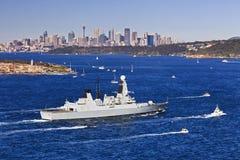 悉尼海军2港口头 免版税库存照片