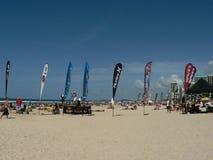 悉尼海滩齐射球 库存图片
