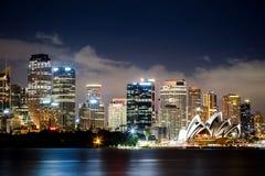 悉尼港口看法 免版税库存照片