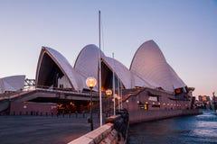 悉尼港口鸟瞰图  库存照片