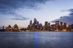 悉尼港口 库存照片