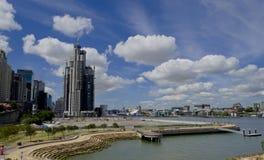 悉尼港口Barangaroo 免版税库存图片