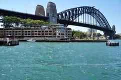 悉尼港桥在悉尼,新南威尔斯,澳大利亚 图库摄影