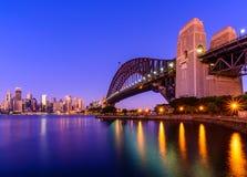 悉尼港桥 免版税库存照片