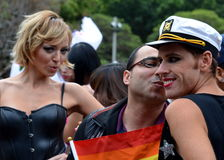 悉尼狂欢节 库存照片