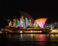 悉尼生动的节日 库存图片