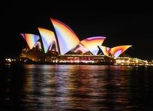 悉尼生动的节日 免版税库存图片