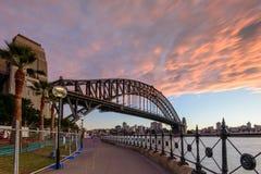 悉尼的Habour桥梁 免版税库存图片