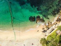 悉尼空中照片  免版税库存图片