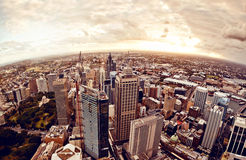 悉尼街市的澳大利亚 免版税库存照片