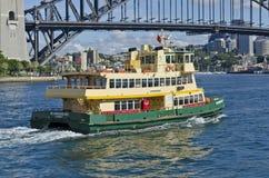 悉尼轮渡斯卡巴勒 库存照片