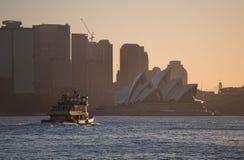 悉尼轮渡 库存照片