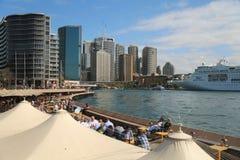 悉尼通报码头 免版税库存照片