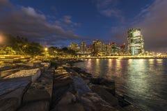 悉尼都市风景 图库摄影