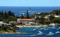悉尼霍巴特游艇况赛2013年 免版税图库摄影