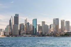 悉尼,澳大利亚- 2014年11月17日:悉尼港口 都市风景 图库摄影