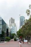 悉尼,澳大利亚- 2014年11月10日:达令港区在悉尼,澳大利亚 都市风景 免版税库存图片