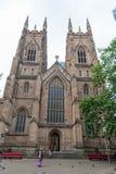 悉尼, AUSTRLIA - 2014年11月11日:圣安德鲁的大教堂,悉尼,澳大利亚 免版税库存照片