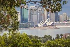 悉尼- 10月25 :2015年10月25日的悉尼歌剧院视图 免版税图库摄影