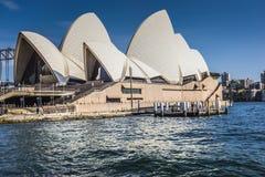 悉尼- 10月27 :2015年10月27日的歌剧院在悉尼 库存图片