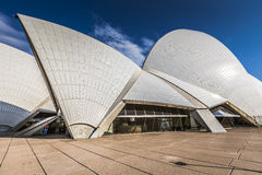 悉尼- 10月27 :2015年10月27日的歌剧院在悉尼 图库摄影