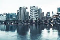 悉尼Arquitecture和街道大厦 免版税库存图片