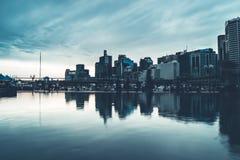 悉尼Arquitecture和街道大厦 库存照片