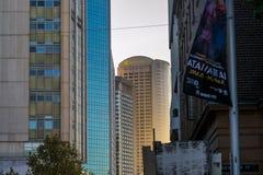 悉尼Arquitecture和街道大厦 库存图片