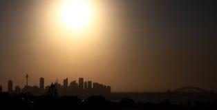 悉尼Cityscae 免版税库存照片