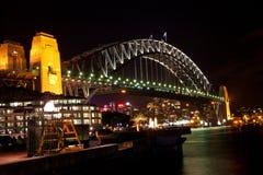 悉尼habor桥梁 免版税库存照片