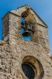 悔罪者教堂在列斯Baux de普罗旺斯,法国 库存照片