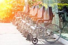 患者的轮椅 库存图片