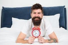 您为什么应该叫醒早期的每天早晨 及早上升的保健福利 早早醒给更多时刻准备 免版税库存图片