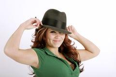 您帽子的保留 免版税库存图片