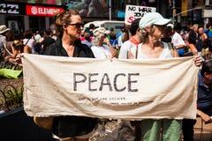 您想要和平我? 免版税库存图片