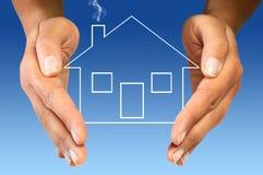 您房子的保护 免版税图库摄影