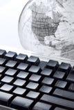 您指尖的世界 免版税库存照片