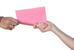 您收到了信件 免版税库存图片