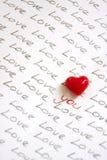 您是否爱某人? 免版税库存照片