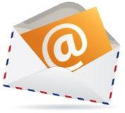 您有邮件 免版税库存图片