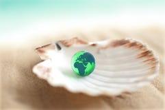您牡蛎的世界 库存图片