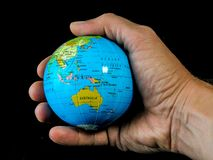 您现有量的世界 免版税库存图片
