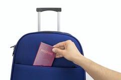 您的下次旅行的输入的护照 库存照片