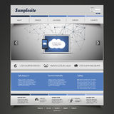 您的事务的网站设计 免版税库存照片