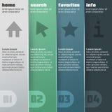 您的企业介绍的元素。 免版税图库摄影