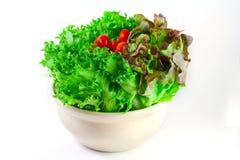 您的健康的沙拉 免版税库存图片