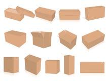 您的公司本体的箱子 库存例证