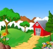 您的农厂背景设计 免版税库存照片