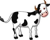 您的动画片母牛设计 免版税库存图片