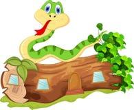您的动画片蛇设计 免版税库存图片